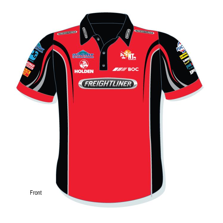 eafc34f86 2016 Freightliner Racing Team Polo Shirt - Shirts n Things